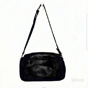Etienne Aigner Dark Navy Leather Purse